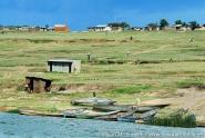 East Africa: Uganda, Queen Elizabeth National Park, Fishing community on Kasinga Channel