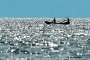 East Africa: Uganda, Queen Elizabeth National Park, Fishing on Lake Edward