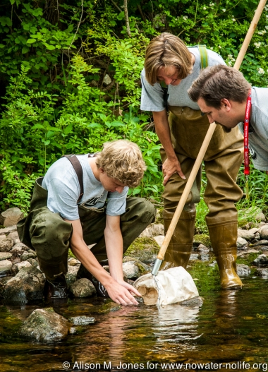 USA: New Jersey, stream monitoring of the Raritan watershed