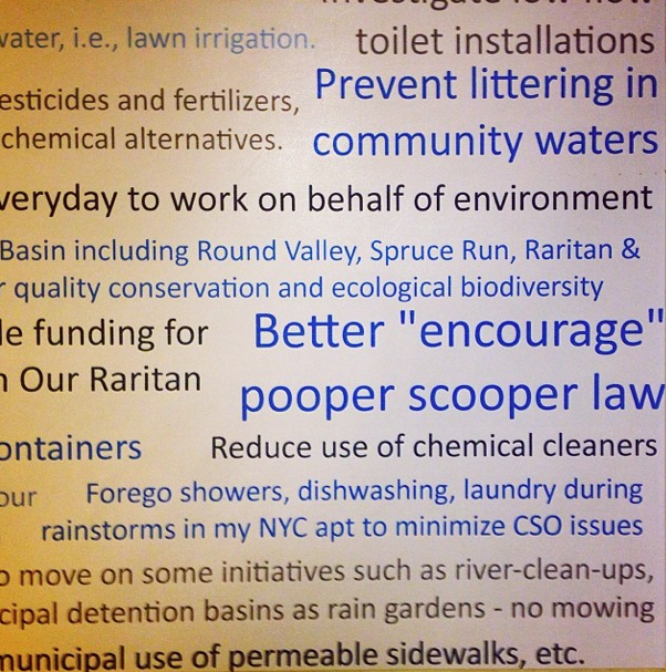 reduce water consumption
