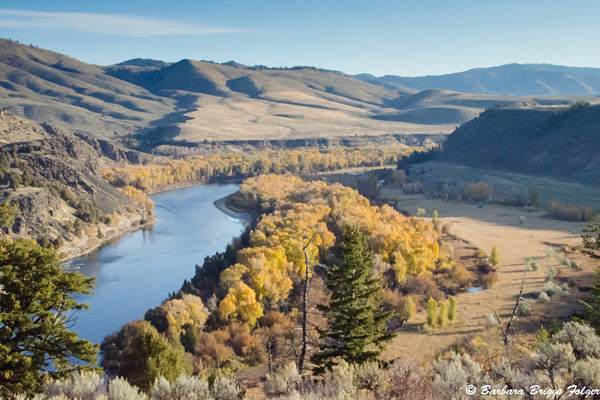 Snake River in Idaho - Photo by Barbara Folger.