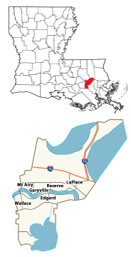 Parish of St. John the Baptist, Louisiana