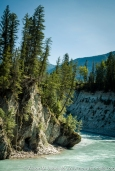 Canada: British Columbia, Kootenay Rockies, Columbia River Basin, Kootenay National Park, Kootenay River