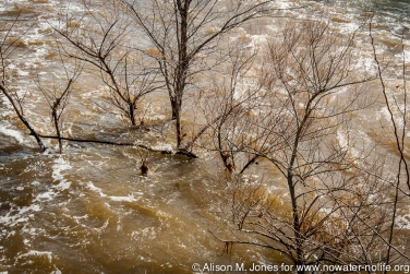 USA: New Jersey, Raritan River Basin spring floods
