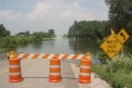 Missouri: Perry County, Chester bridge blocked for flooding