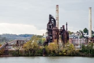 USA: West Virginia, Ohio River Basin,