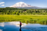 Trout Lake, Washington State