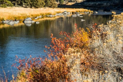 Crooked River, south of Prineville, Castle Rock Day Area.