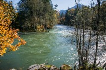 McKenzie River confluence with the Blue River