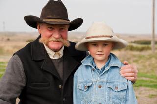 Grandpa Bruce and Emmett
